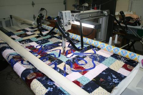 custom long arm quilting sacramento
