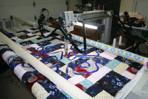 custom long arm quilting sacramento