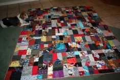 clothing memory quilt