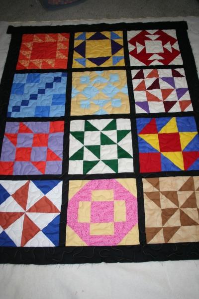 custom quilt cancer donation