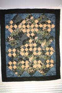disappearing 9-patch quilt