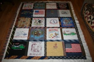 t-shirt quilt