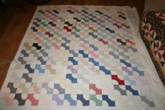 antique bowtie quilt