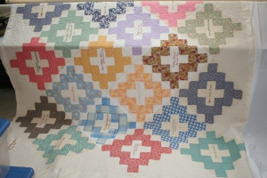 signature quilt antique