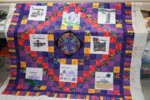 around the world quilt