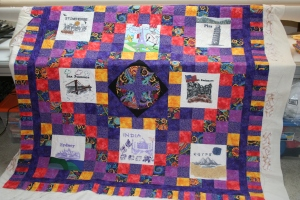 around the world quilt