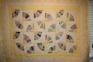 antique fan quilting