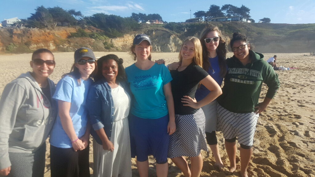 girlfriends at half moon bay