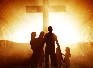 family-worship-cross
